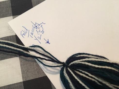tassel-fold-knot