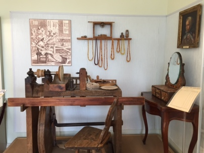 Replica of an old Amber workshop
