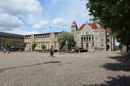 The square in Helsinki