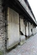 Estonia medieval grave stones
